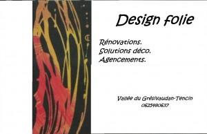 Design folie
